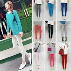 Korean Cute ColorfulTrendy Candy Color Pencil Pants Stretch Leggings BAAU