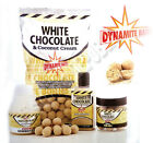 Dynamite Baits WHITE CHOCOLATE Boilies Pop-Ups Dips and Bait for Carp Fishing