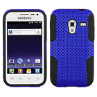 For Samsung Galaxy Admire 4G MESH Hybrid Silicone Rubber Skin Case Phone Cover