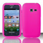 For Samsung Galaxy Centura S738C Rubber SILICONE Skin Soft Gel Case Phone Cover