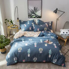 New Blue Pink Dot King/Queen/Double Size Quilt/Doona/Duvet Cover Set 100% Cotton