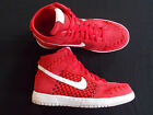 Nike Dunk Woven shoes sneakers new mens red 555030 600