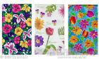 FLORAL TABLE COVERS ~ Bithday Summer Spring Party Supplies Flowers Tulips Iris