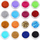 Perfect 16 Color Uv Acrylic Dust Glitter Powder Nail Art Tips Decoration