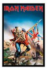 Framed Iron Maiden Trooper Poster Ready To Hang - Choice Of Frame Colours