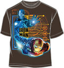T-Shirt Tee IRON-MAN 2 NEW Marvel Automan (Youth/Kids) Juvy Licensed v5392js