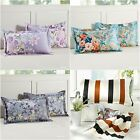 Hot Floral New 100% Cotton Soft Pillowcases Home Decor Cushion Cover 45x75cm 2Ps