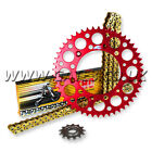 HONDA CRF250R CRF 250R 2004 - 2012 THC CHAIN AND RED RENTHAL SPROCKET KIT