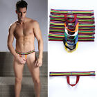 New 8 Colors Sexy Men's Male Push Up Lift Pouch Underwear Tanga ring 2 Size M L