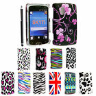 FOR SONY XRERIA MINI PRO SK17i STYLISH PRINTED HARD SHELL CASE COVER+FREE STYLUS