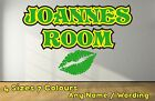 Funky Personalised Name Girls lips Decal Wall Sticker Boys Girls Green NLGR