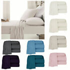 APARTMENTO Micro-Flannelette Sheet Set - SINGLE King Single DOUBLE QUEEN KING