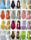 HOT Sell!  Popular New Long Straight 12 Color Cosplay Wig/ Wigs  W.10096