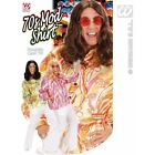 Mens 70s Mod Shirt Costume Outfit for 70s Hippy Hippie Fancy Dress