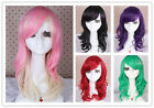 50cm hot Medium curl wavy fashion women cosplay party hair wig collections CW144