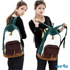 NEW Bookbag School Rucksack Campus Vintage Bags Women's Canvas Backpack 5 Colors