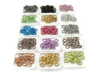 100 ROUND 12MM COLORED ALUMINUM JUMPRINGS 12 GAUGE OPEN JUMP RINGS