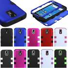 For Samsung Galaxy S2 T-Mobile T989 Mybat Tuff Hybrid Hard Cover 2 Layer Case