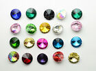 12mm Glass Rhinestone Color Faceted  Round Jewels beads dress craft  100 PCS