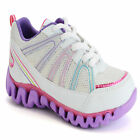 GIRLS SCHOOL SHOES OLDER KIDS LIGHT WEIGHT PE PUMPS TRAINERS SIZES 13-6 UK