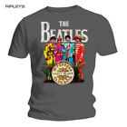 Official T Shirt THE BEATLES Grey Sergeant Sgt Pepper All Sizes
