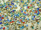 1440 pcs colourful point back rhinestone beads size your pick