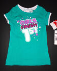 PumaToddler Girls Green  T-Shirt  SIZE-3T or 4T NWT (Girls Finish 1st  )