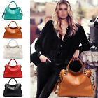 New Women Lady Square Genuine Leather Tote Shoulder Messenger Handbag Hobo Bags