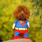 Puppy Superman Dog Pet Costume & Cape Costume Parties Prop