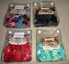 NIP Crafting Sewing BUTTONS GALORE 8 oz Package Colored Buttons *U Choose