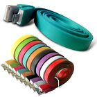 MICRO USB DATA CABLE FLAT NOODLE CHARGER BABY BLUE FOR VARIOUS MOBILE PHONES