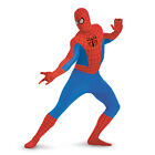 Adult Spider-Man Deluxe 2nd Skin Full Bodysuit Jumpsuit Zentai Costume Halloween
