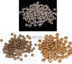 Wholesale Lot 100Pcs Retro Style Zinc Alloy Wheel Gear Spacer Bead For Jewelry