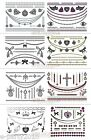 FASHION JEWELRY Temporary TATTOOS ~ birthday bachelorette Party Supplies Favors