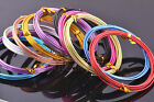 New 1Roll 12/15/18Gauge 1.0/1.5/2.0mm Aluminum Jewelry Wrap Craft Wire 12Color