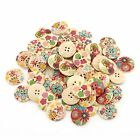 Various Size Sewing Wooden Buttons Scrapbooking