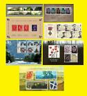 2006 Miniature Sheet Issues of Great Britain each Sold Separately Mint nh