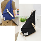 New Men's Canvas Bike Bicycle Messenger Shoulder Outdoor Sports Sling Chest Bag
