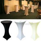 10 Lycra Stretch Cocktail Poseur Dry Bar Spandex Table Cover Cloth Wedding Event