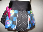 NEW Baby Girls Black,Blue,Pink Cookie Monster,Spot,Check,Hippy,Retro,gift Skirt