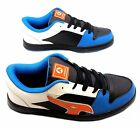 Airwalk Reflex Trainers Skate Shoes Blue Black White Mens  Sz 7/8/9/10/11