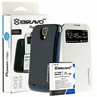 Bravo-EX 5200mAh Extended Battery+Flip Cover Case for Samsung Galaxy S4 LTE R970