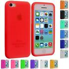 For Apple iPhone 5C Color Silicone Rubber Soft Gel Skin Case Cover Accessory