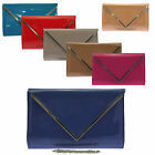 Patent Glossy Clutch Bag Envelope Large Oversized Glossy Prom Evening Wedding