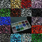 ss20 / 5mm Iron On Hot Fix Rhinestones in Varies Colours and  Lots 144 - 1440pcs