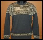 MENS DESIGNER STYLE CREW NECK JUMPER KNITWEAR SIZE S,M,L,XL Brand new.Ideal gift