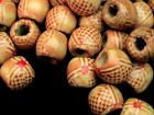 50 Pcs Painted Wooden Ethnic Drum Beads 12mm Jewellery Ethnic Craft Kids Beads
