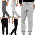 Mens Trouser Jogging Bottoms Fleece Tracksuit Joggers Loose Fit Gym Activewear