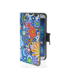 THIN LEATHER WALLET CARD STAND POUCH CASE COVER FOR SAMSUNG GALAXY S4 I9500