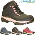 WOMENS GROUNDWORK LEATHER SAFETY STEEL TOE CAP LADIES BOOTS WORK TRAINERS SHOES